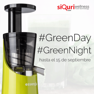 Greenday - GreenNight - siQuri